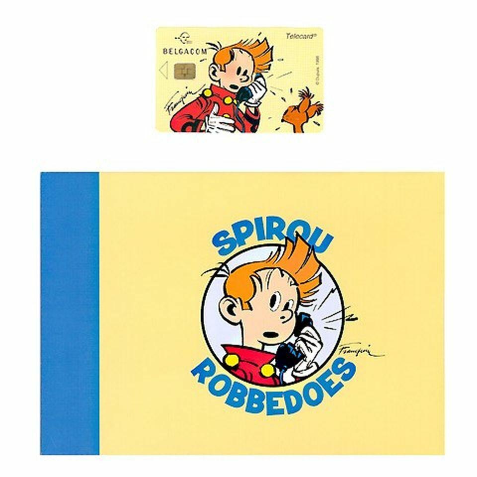 Carte de téléphone, Spirou-0