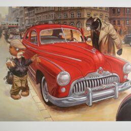 La Buick Rouge-0