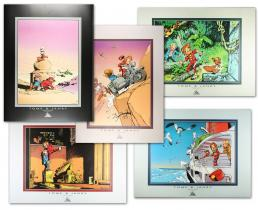 Spirou : 5 posters-0