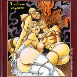 BD Torrides 3 histoires complètes : Nana, Luxure Galactique, Cybersexe-0