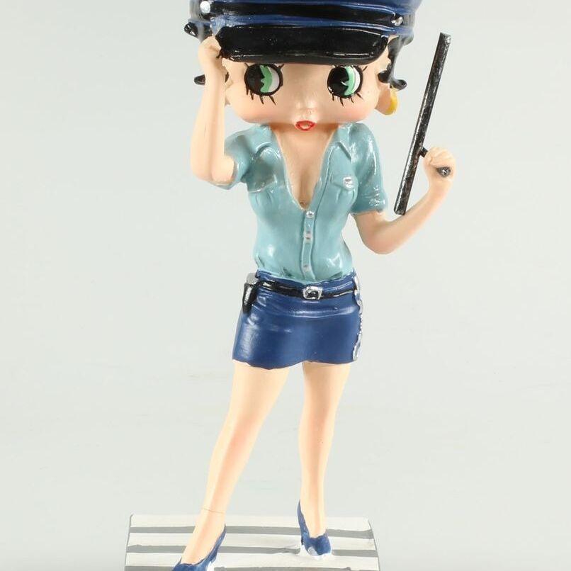 Betty Boop Agent de police-0