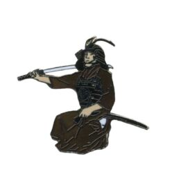 Samouraï accroupi -0