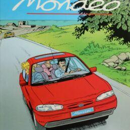 BD publicitaire, la Ford Mondéo-0