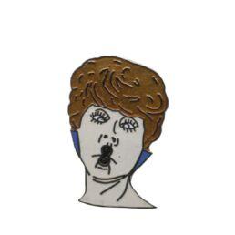 Femme bisou (blanc)-0