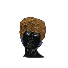 Femme bisou (noir)-0