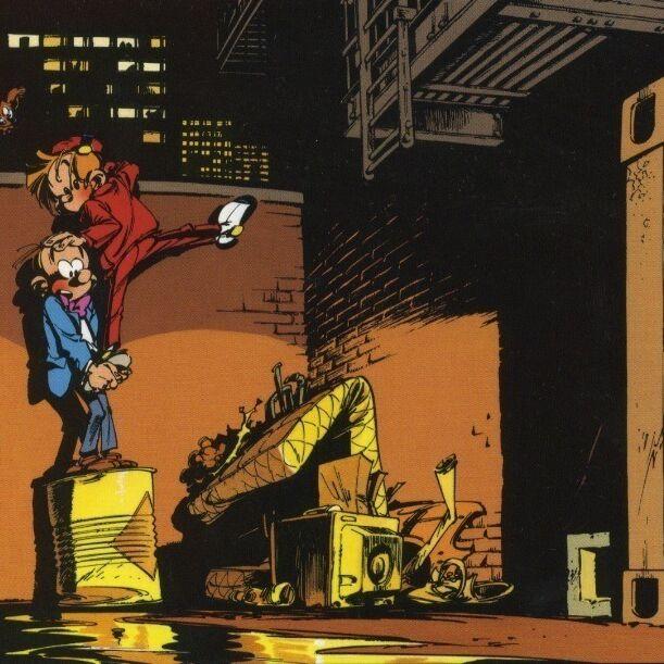 Spirou et Fantasio investiguent en ville-0