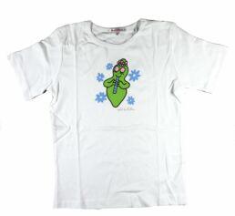 T-shirt manches courtes blanc Barbapapa pour enfant : taille 104/110, flûte-0