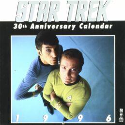 Calendrier Star Trek 1996 - 30ème anniversaire-0