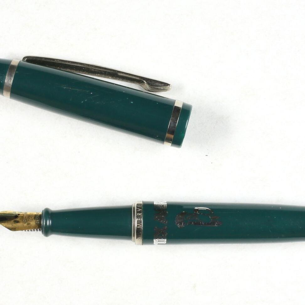Stylo à plume Girl / Droopy vert-0