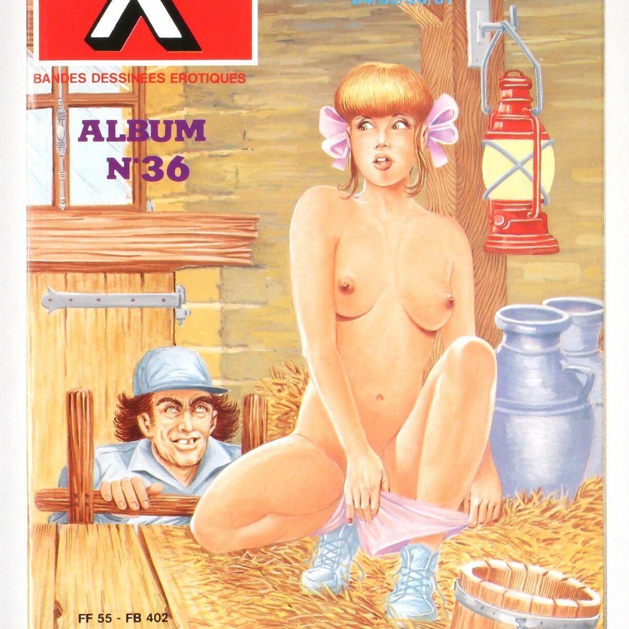 Bédé X N°36, Recueil de 4 numéros : N°34-35-36-37-0