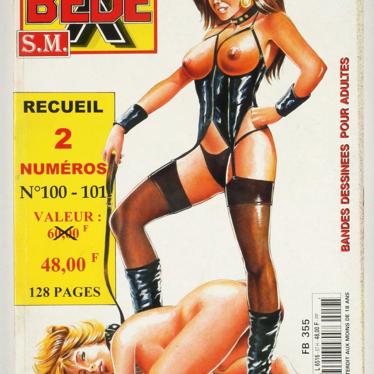 Bédé X N°57, Recueil des numéros 100 et 101-0