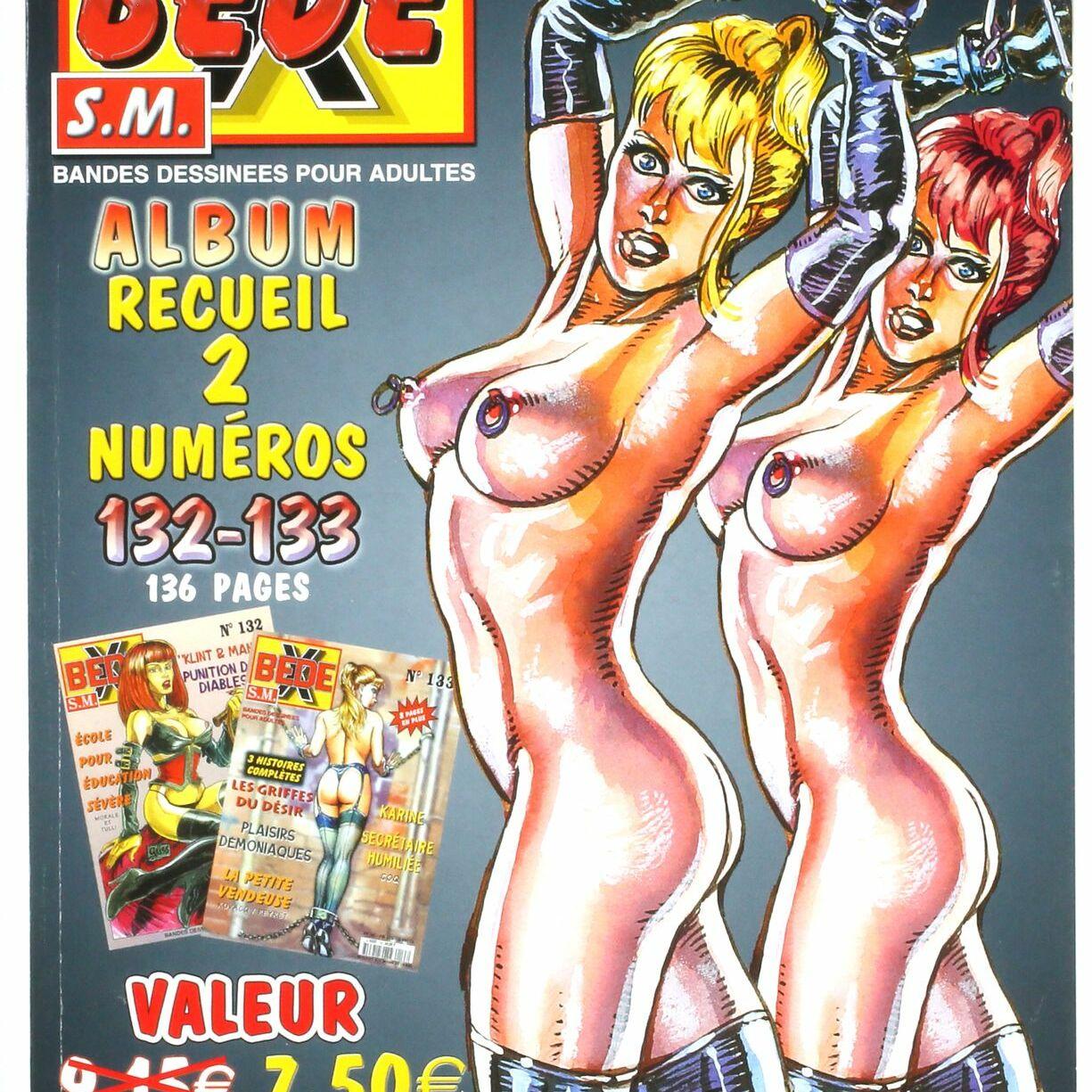 Bédé X N°73, Recueil des numéros 132/133-0