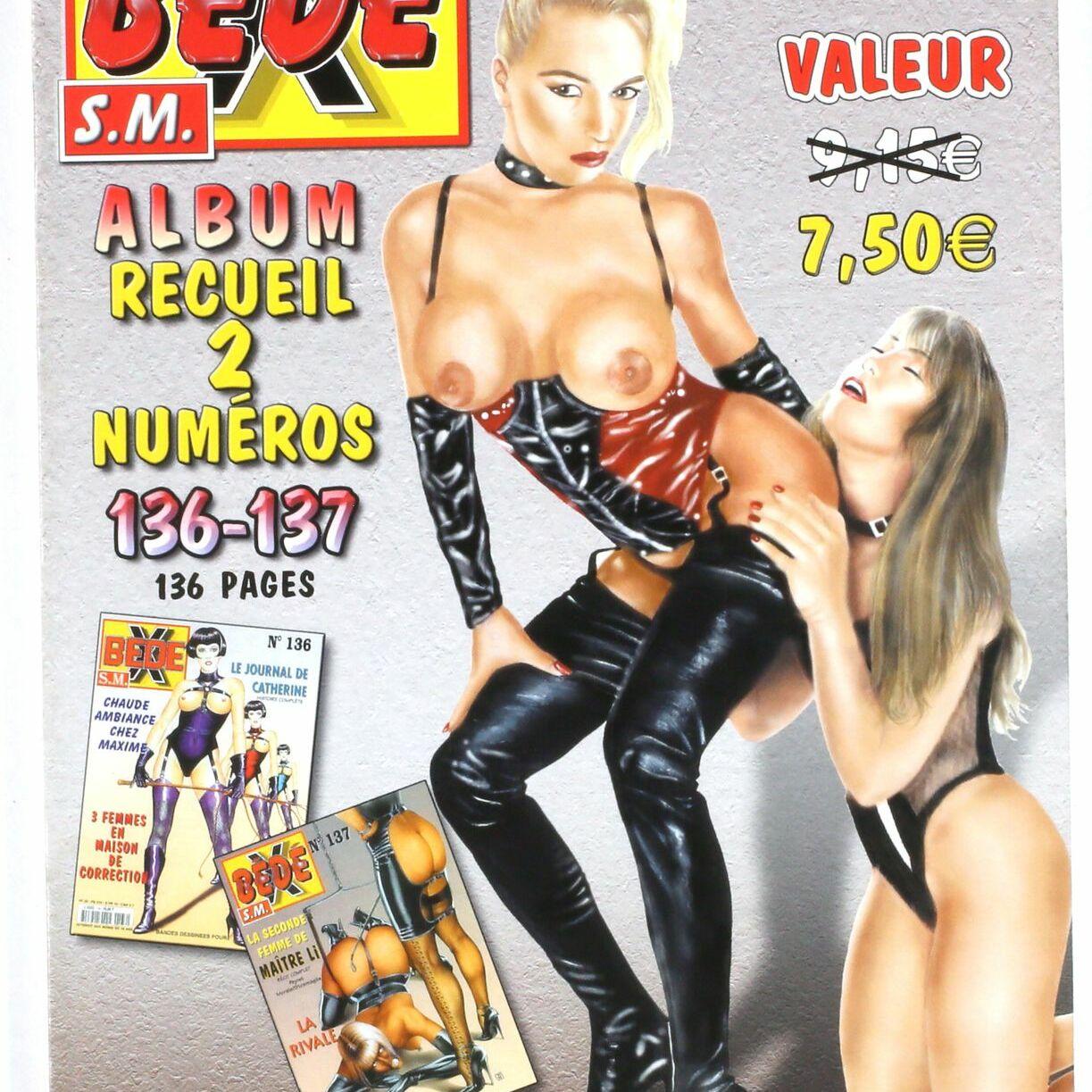 Bédé X N°75, Recueil des numéros 136/137-0