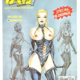 SM Comix N°12, Recueil de 4 numéros Special Bondage-0