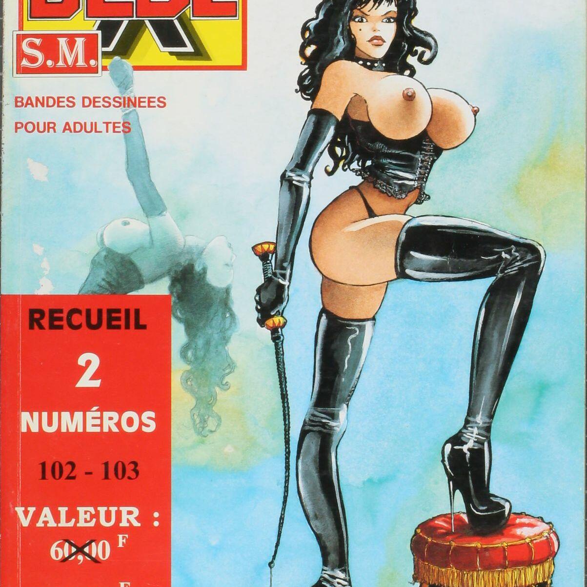 Bédé X N°58, Recueil des numéros 102/103-0