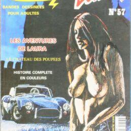 Sexbulles N°57, Les aventures de Laura, Le château des poupées-0