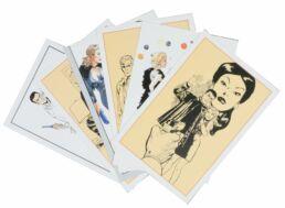 Bob Morane : portfolio 6 cartes postales-0