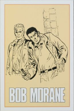 Bob Morane : Carte postale C'est l'aventure-0