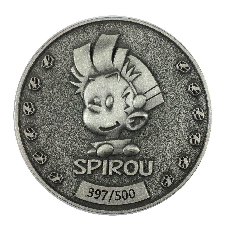 Médaille Spirou et Fantasio-0