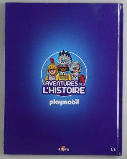 Playmobil, aventure de l'histoire, les grandes guerrières du moyen âge. La bd accompagnée de son Playmobil, l'indien Apache-413566