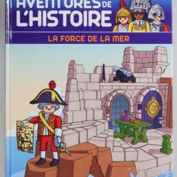 Playmobil, aventure de l'histoire, les grandes guerrières du moyen âge. La bd accompagnée de son Playmobil, le soldat Anglais-413575