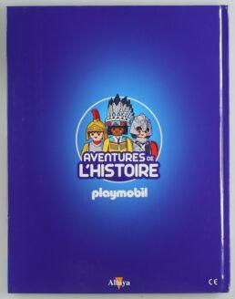 Playmobil, aventure de l'histoire, les grandes guerrières du moyen âge. La bd accompagnée de son Playmobil, le soldat Anglais-413576