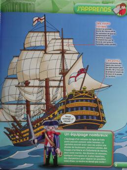 Playmobil, aventure de l'histoire, les grandes guerrières du moyen âge. La bd accompagnée de son Playmobil, le soldat Anglais-413577