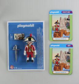 Playmobil, aventure de l'histoire, les grandes guerrières du moyen âge. La bd accompagnée de son Playmobil, le soldat Anglais-413578