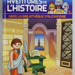 Playmobil, aventure de l'histoire, les grandes guerrières du moyen âge. La bd accompagnée de son Playmobil, Hypatie d'Alexandrie-413570