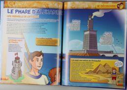 Playmobil, aventure de l'histoire, les grandes guerrières du moyen âge. La bd accompagnée de son Playmobil, Hypatie d'Alexandrie-413572