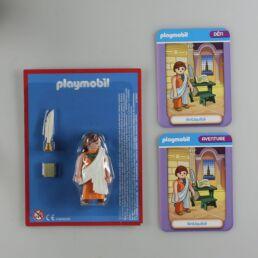 Playmobil, aventure de l'histoire, les grandes guerrières du moyen âge. La bd accompagnée de son Playmobil, Hypatie d'Alexandrie-413573