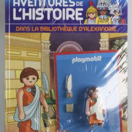 Playmobil, aventure de l'histoire, les grandes guerrières du moyen âge. La bd accompagnée de son Playmobil, Hypatie d'Alexandrie-0