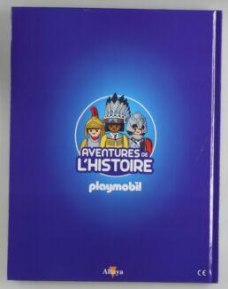 Playmobil, aventure de l'histoire, les grandes guerrières du moyen âge. La bd accompagnée de son Playmobil, Ninja.-413556