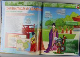 Playmobil, aventure de l'histoire, les grandes guerrières du moyen âge. La bd accompagnée de son Playmobil, Ninja.-413557