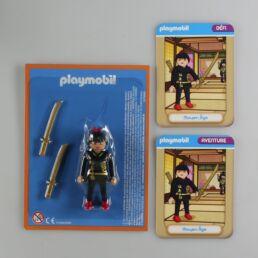 Playmobil, aventure de l'histoire, les grandes guerrières du moyen âge. La bd accompagnée de son Playmobil, Ninja.-413558