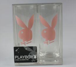 2 verres à long drink, Playboy-413530