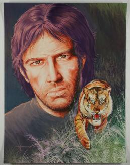 Dessin original, Tigre -0