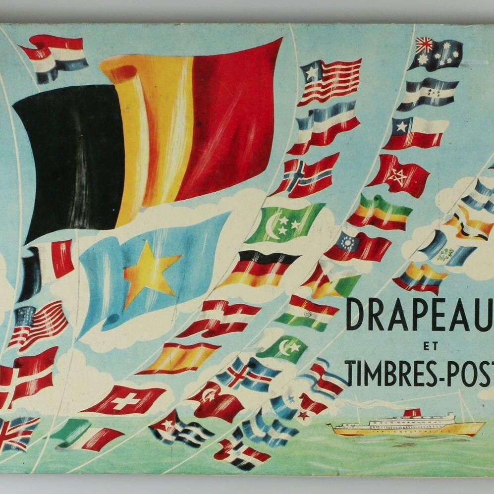 Album d'images Drapeaux et timbres-poste-0