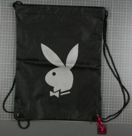 Sac à dos tissus Noir Grande Tête, Playboy-0