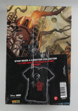 "Panini comics, Star wars 4 collector edition + Tshirt exclusif "" coté obscur de la force"" taille XL-413767"