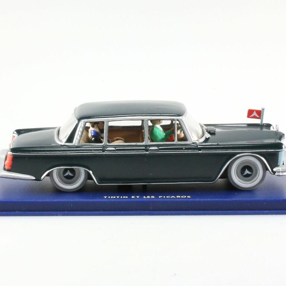 La limousine gouvernementale, Mercedes 600 de Tintin et les Picaros, Années 70, 1/43