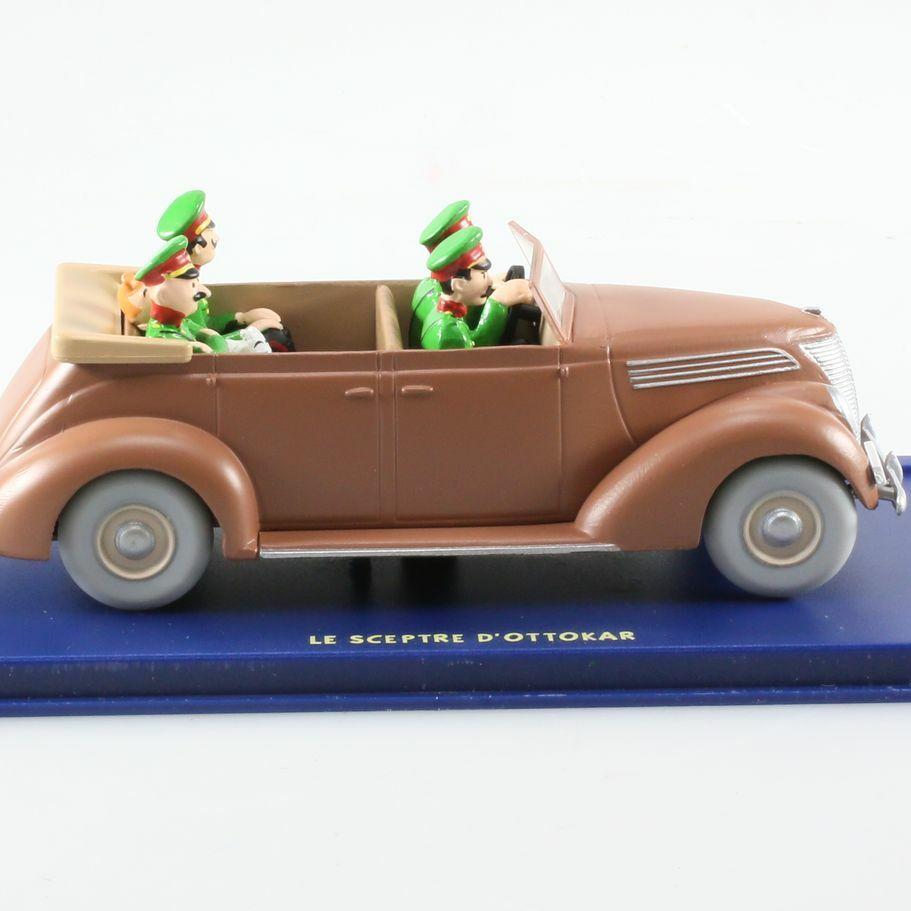 La Ford V8 décapotable, Le Sceptre d'Ottokar, 1937, 1/43
