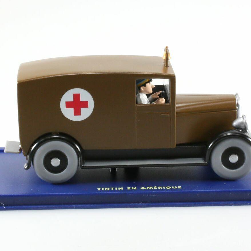 L'ambulance de Chicago, Tintin en Amérique, Années 20, 1/43
