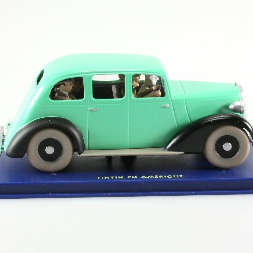 La voiture des gangsters, Graham Six, Tintin en Amérique, 1935, 1/43