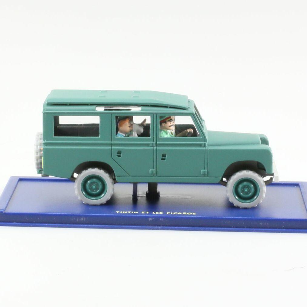 Le Land Rover 109 SW du Général Tapioca, Tintin et les Picaros, Années 70, 1/43