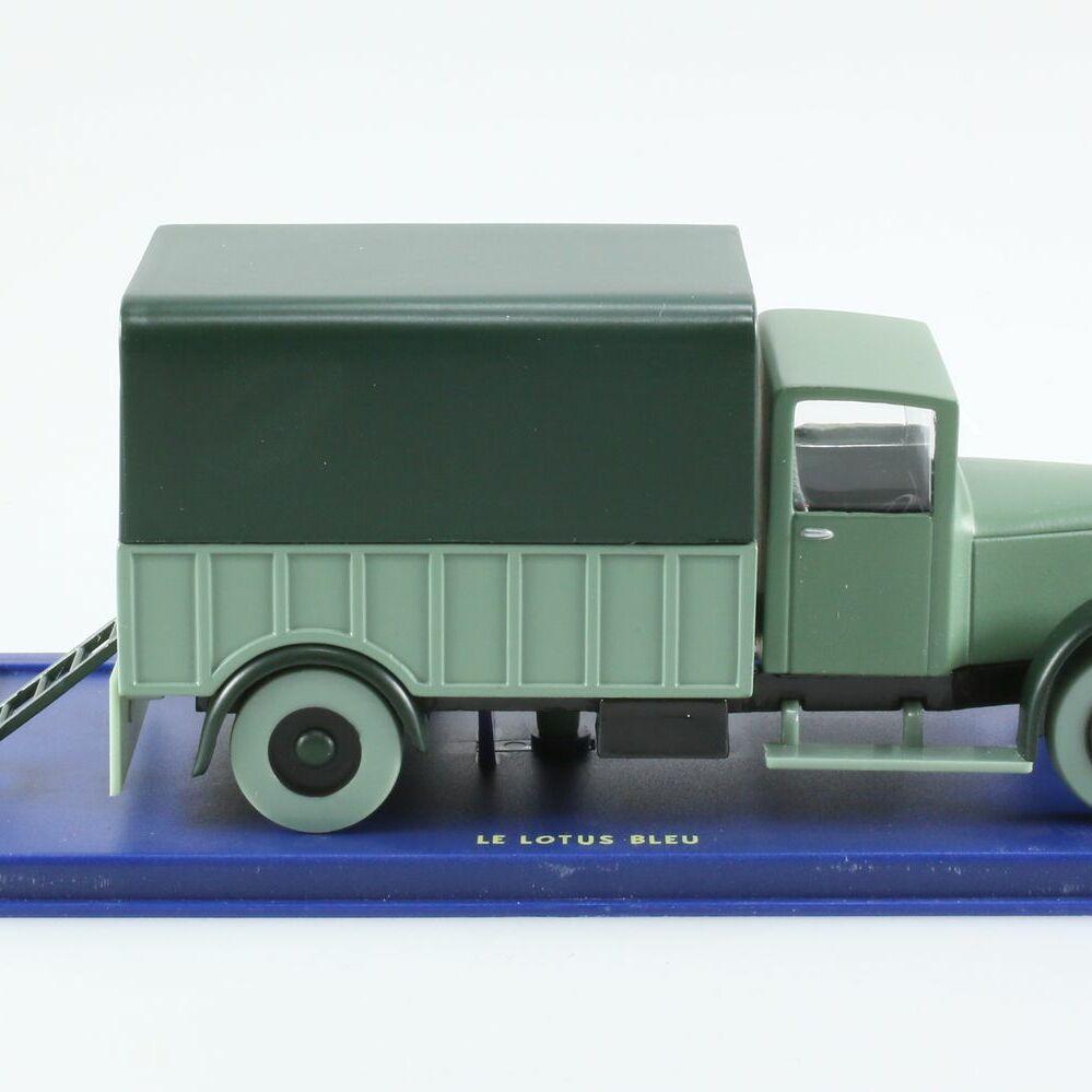 Le camion d'opium, Le lotus bleu, Années 30, 1/43