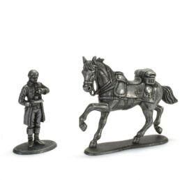 Valet de chambre de la maison de l'Empereur + Cheval du 25eme régiment de dragons