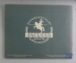 Chocolat Jacques, album chromos , Autos 1954