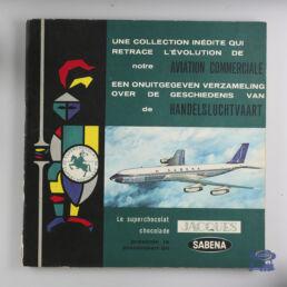 Chocolat Jacques, album chromos , Jacques présente la Sabena