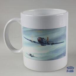 AIRBORNE 44, avions, Mug Blanc